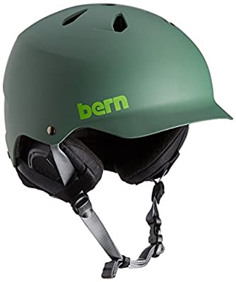 Bern Men's Watts Thin Shell Winter Helmet with Liner from Bern