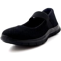Calzado Yoga Entrenadores - Negro Completo