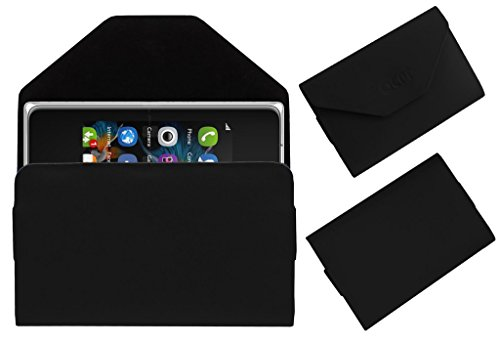 Acm Premium Pouch Case For Nokia Asha 500 Flip Flap Cover Holder Black  available at amazon for Rs.179