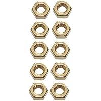 Tuerca hexagonal M2,5latón DIN 93410pieza (0111)
