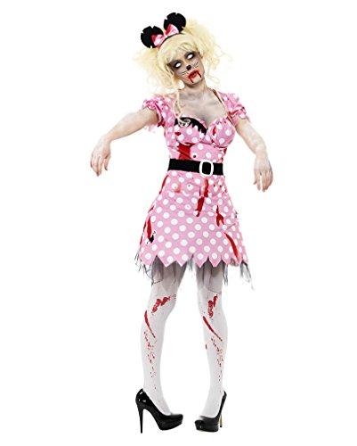 50er Jahre Zombie Maus Kostüm (Kostüm Zerfetzte Kleid)