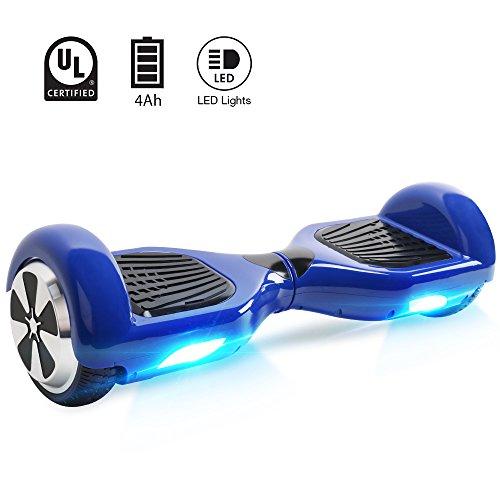"""BE3K Hoverboard 6.5"""" Patinete Eléctrico Scooter Auto Electrico Patinetes, Patin Electric con 2*350W Motor, Monopatín Eléctrico para Adultos y Adolescentes"""