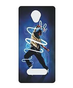 Techno Gadgets Back Cover for Lava A48