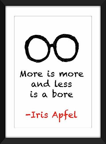 iris-apfel-mehr-ist-mehr-a3-a4-8-x-10-a5-5-x-7-druck-typografie-grafik-inspirierend-zitate-more-is-m