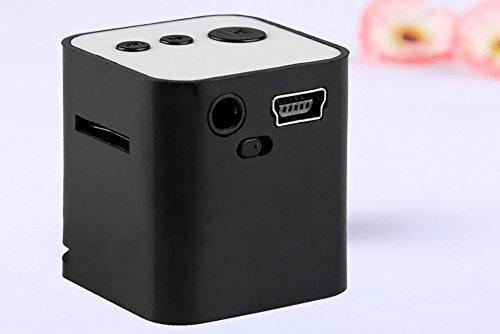 OSYARD MP3 Player,Musik Player,Tragbarer USB MP3 Mini Musik Player mit Lautsprecher Uunterstützt 32GB Micro SD TF-Karte,Verlustfreie Sound MP3-Player mit Touch-Taste(Weiß,Schwarz,Grün,Blau,Rosa)