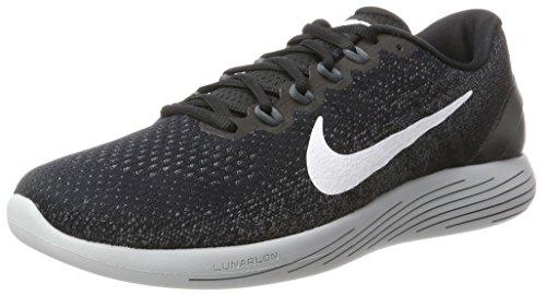 Nike Herren Lunarglide 9 Laufschuhe, Schwarz (Blackwhitedark Gr E Y Wolf  Grey 001) ...