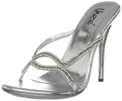 Unze Evening Sandals, Sandali donna Argento (Silber (L18862W))