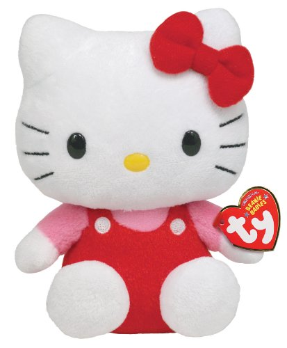 TY 40817 - Hello Kitty Baby-Overall rot/pink