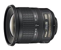 Nikon AF-S DX Nikkor 10-24mm 1:3,5-4,5G ED Objektiv (77 mm Filtergewinde) schwarz