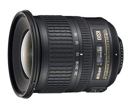 Nikon 999712 - Objetivo para cámara réflex AF-S DX 10-24MMF3.5-4.5G SD2, color negro