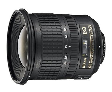 Nikon AF-S DX 10-24 mm f/3.5-4.5 Objectif + Parasoleil HB-23