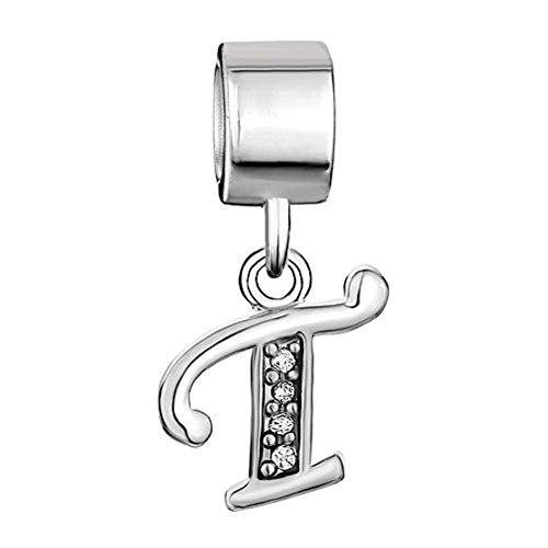 Uniqueen Fit Pandora Charms  -    Kupfer     Cristal