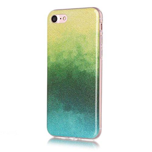 iPhone Case Cover Gradient motif de couleur ultra mince coque TPU étui souple pour Apple IPhone 7 ( Color : L , Size : IPhone7 ) G