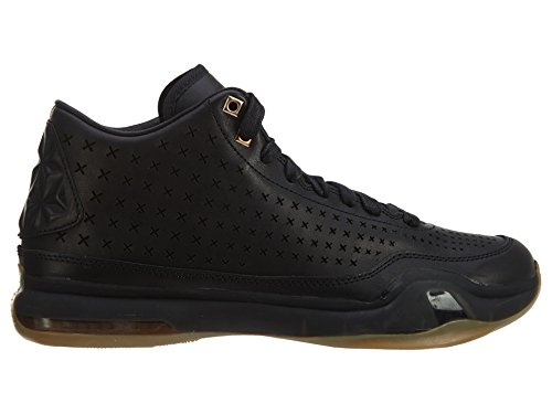 Nike Kobe X Mid Ext, Scarpe da Basket Uomo black metallic gold 002