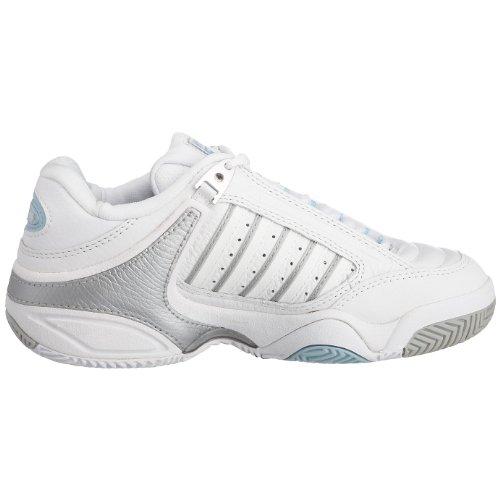 Defier Tennis De bianco swiss Argento Blu Cielo K Blanc Rs Chaussures Femme nSBfEx6q