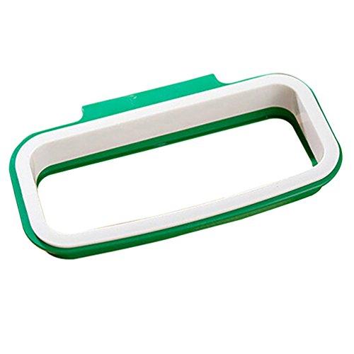 Stahl-tür Spezifikationen (Küche Tür wieder zum Aufhängen Stil Schrank Ständer Trash Müllsäcken Halterung amesii)