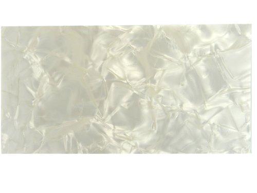 rothko-and-frost-lamina-de-celuloide-para-mastiles-200-x-100-x-15-mm-diseno-nacarado-color-blanco