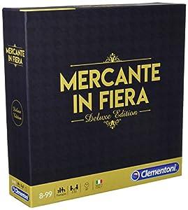 Clementoni - Juego de Mesa de Mercante de Fiera Deluxe Edition, Multicolor, 16183