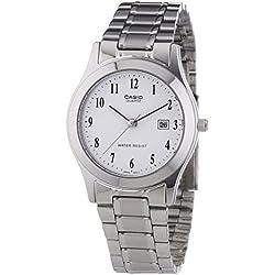 Casio Collection Reloj Analógico de Cuarzo para Mujer con Correa de Acero Inoxidable – LTP-1141PA-7BEF