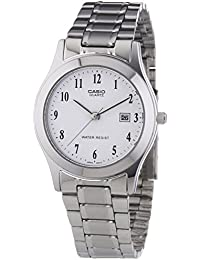 Casio Collection Damenuhr Analog Quarz mit Edelstahlarmband – LTP-1141PA-7BEF