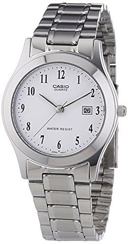 Casio Collection – Damen-Armbanduhr mit Analog-Display und Edelstahlarmband – LTP-1141PA-7BEF