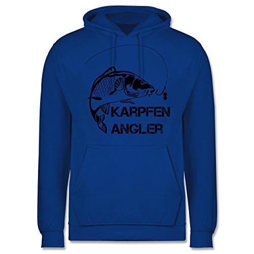 Angeln - Karpfen Angler - Männer Premium Kapuzenpullover / Hoodie