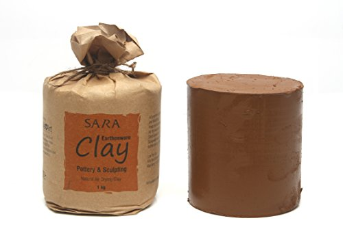 Sara Earthenware Terracotta Clay,1 Kg
