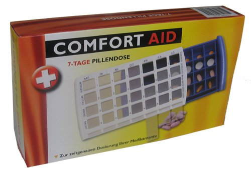 COMFORT-AID by mediAID 7-Tage Pillendose