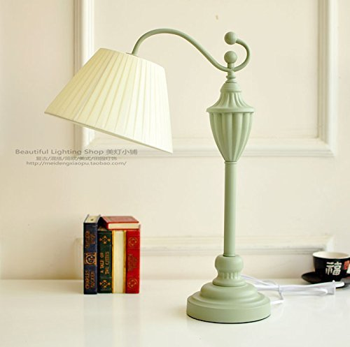 TD Tisch Lampe-Lampe minimalistischen zeitgenössischen amerikanischen kontinentalen französischen Landschaft Dorf Kopf lesen Studie Schlafzimmer,EIN -