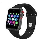 Lemumu ZAOYIMALL Bluetooth DM 09 Smart Watch unterstützt SIM-Karte HD-Bildschirm MTK2502 C Magic Knopf Smartwatch für Iphone für Android, Schwarz