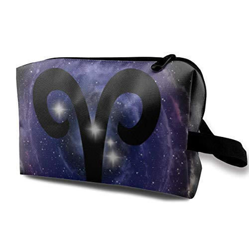 c6bd815cc997f Aries Zodiac Sign And Constellation Stars Makeup Storage Bags Organizer  Clutch Pouch For Women