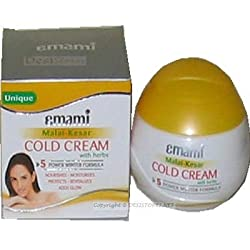 Emami Cold Cream with Herbs and Malai-Kesar 60ml