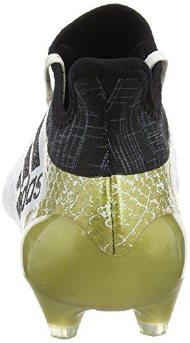 adidas X 16.1 FG, Chaussures de Foot Homme Blanc Cassé - Blanco (Ftwbla / Negbas / Dormet)