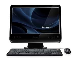 Lenovo C205 18.5-inch All-in-One PC - Black (AMD Fusion Brazos E350X 1.6GHz, RAM 2GB, HDD 500GB, DVDRW, WLAN, Webcam, Windows 7 Home Premium)