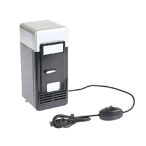 Seasaleshop Mini USB Kühlschrank Minibar Kühlbox 5V für Auto, Hotel, Warmhaltebox by