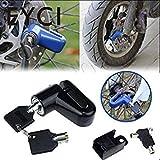 EYCI 2017 Bicycle Disc Brake Lock Motorcycle Rotor Lock Anti-Theft Heavy Duty Motorcycle Moped Rotor Lock