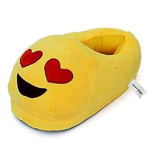 Emoticon Pantofole Heart Eye