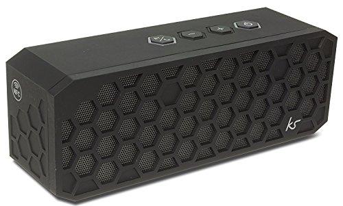 KitSound Hive2 Bluetooth Wireless Stereo Speaker for Smartphones - Black