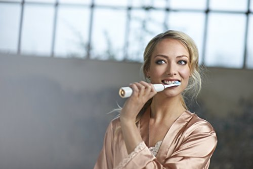 Philips Sonicare DiamondClean Electric Toothbrush – Rose Gold Edition 3rd Generation (UK 2-pin bathroom plug)