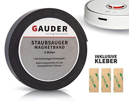 GAUDER Begrenzung Saugroboter Magnetband I passend für Neato Xiaomi Miele Vorwerk Tesvor