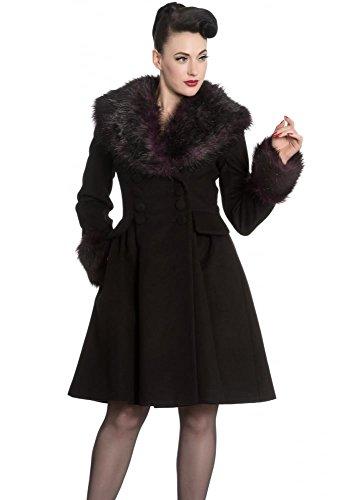 Hell Bunny-Rock Noir Coat Black 46