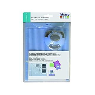 Artemio Kit Schaffung von Umschlag und Karte mit Locher, Kunststoff, mehrfarbig, 17,5x 5x 26cm