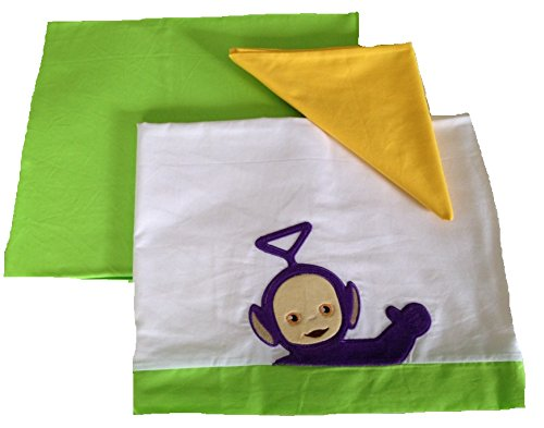 Babykleidung Kinderbett Teletubbies violett THINKY whinky Bettwäsche Set Bett
