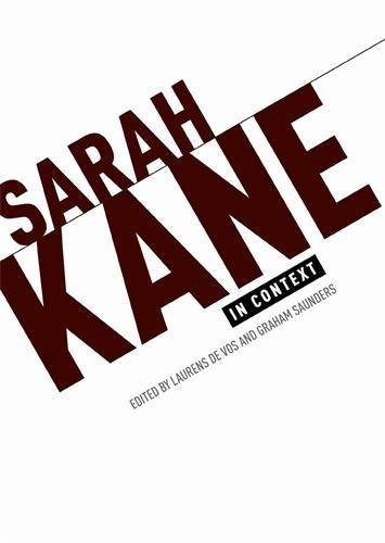 Sarah Kane in Context: Essays