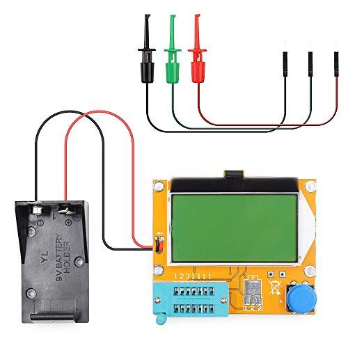 SODIAL Widerstands Test und Kapazit?ts Prüfger?t Lcr-T4 für Digitale Transistor Tester mit Test Haken Transistor-test