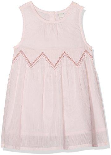 ESPRIT Kids Baby-Mädchen Kleid RL3008102, Rosa (Pearl Rose 309), 68 (Rosa Rosen Baby-mädchen)