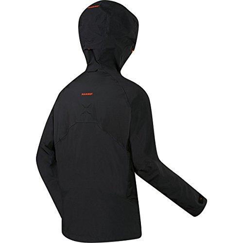 Mammut Nordwand Pro HS Hooded Jacket Men orange Schwarz