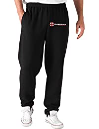 T-Shirtshock - Pantalones Deportivos TF0044 inspired by Resident Evil The Umbrella Corporation