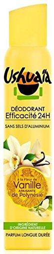 Ushuaïa - Déodorant Femme Atomiseur à La Fleur De Vanille Apaisante De Polynésie - 200 ml