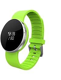 Smart Bracelet ONEMORES(TM) Pedometer Wristband Bluetooth Watch Activity Fitness Tracker (Green)
